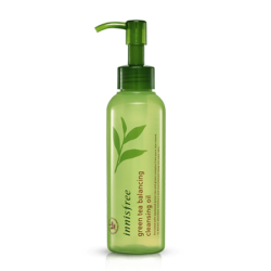 Innisfree Green Tea Balancing Cleansing Oil 150ml korean cosmetic skincare shop malaysia singapore indonesia