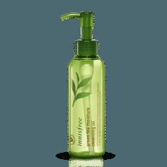 Innisfree Green Tea Moisture Cleansing Oil 150ml korean cosmetic skincare shop malaysia singapore indonesia