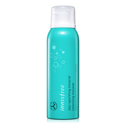 Innisfree Jeju Sparkling Mineral Cleansing Mousse 120ml korean cosmetic skincare shop malaysia singapore indonesia