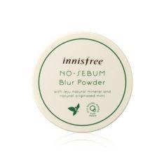 Innisfree No Sebum Blur Powder 5g korean cosmetic skincare shop malaysia singapore indonesia