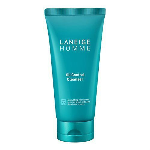 Laneige Homme Oil Control Cleanser 150ml korean cosmetic skincare shop malaysia singapore indonesia