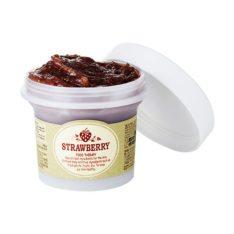 SkinFood Black Sugar Strawberry Mask Wash Off 100g korean cosmetic skincare shop malaysia singapore indonesia