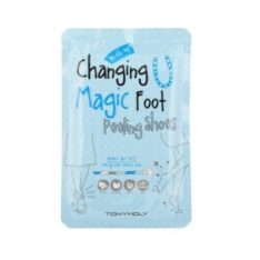 TONYMOLY Changing U Magic Foot Peeling Shoes 34ml x 2 korean cosmetic skincare product online shop malaysia china japan