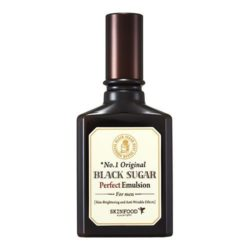 SkinFood Black Sugar Perfect Emulsion For Men (Skin-Brightening and Anti-Wrinkle Effects) 150ml korean cosmetic skincare shop malaysia singapore indonesia