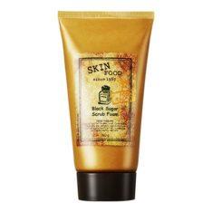 SkinFood Black Sugar Scrub Foam 160ml korean cosmetic skincare shop malaysia singapore indonesia