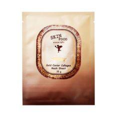 SkinFood Gold Caviar Collagen Mask Sheet 28g korean cosmetic skincare shop malaysia singapore indonesia