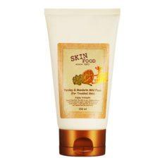 SkinFood Parsley and Mandarin Mild Foam 150ml korean cosmetic skincare shop malaysia singapore indonesia