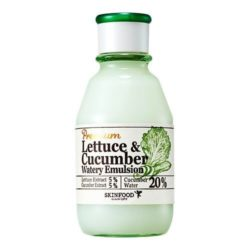SkinFood Premium Lettuce & Cucumber Watery Emulsion 140ml korean cosmetic skincare shop malaysia singapore indonesia