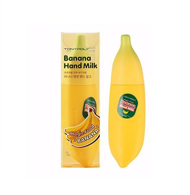 TONYMOLY Magic Food Banana Hand Milk 45ml koreran cosmetic skincare product online shop malaysia china japan