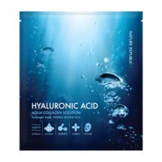 Nature Republic Aqua Collagen Solution Hydrogel Mask Hyaluronic Acid korean cosmetic skincare shop malaysia singapore indonesia
