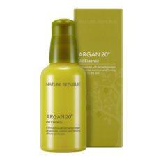 Nature Republic Argan 20 Oil Essence 40ml korean cosmetic skincare shop malaysia singapore indonesia