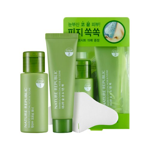 Nature Republic Bamboo Charcoal Nose & T-Zone Pack 58ml