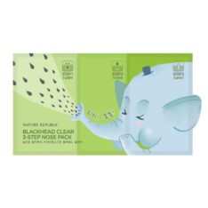 Nature Republic BlackHead Clear 3 Step Nose Pack 10g korean cosmetic skincare shop malaysia singapore indonesia