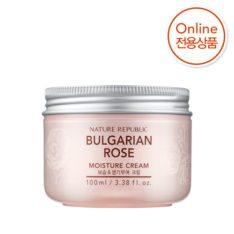 Nature Republic Bulgarian Rose Moisture Cream 100ml korean cosmetic skincare shop malaysia singapore indonesia