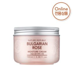 Nature Republic Bulgarian Rose Moisture Cream 100ml korean cosmetic skincare shop malaysia singapore indonesia