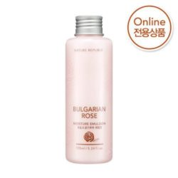 Nature Republic Bulgarian Rose Moisture Emulsion 155ml korean cosmetic skincare shop malaysia singapore indonesia