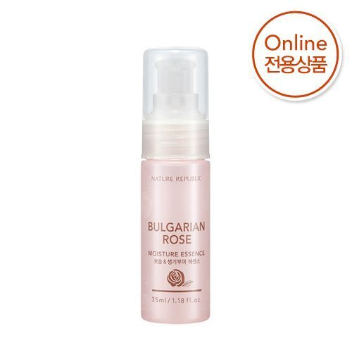 Nature Republic Bulgarian Rose Moisture Essence 35ml korean cosmetic skincare shop malaysia singapore indonesia