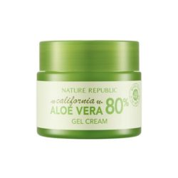 Nature Republic California Aloe Vera 80 Gel Cream 50ml korean cosmetic skincare shop malaysia singapore indonesia