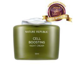 Nature Republic Cell Boosting Night Cream 55ml korean cosmetic skincare shop malaysia singapore indonesia