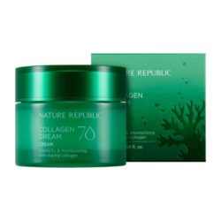 Nature Republic Collagen Dream 70 Cream 50ml korean cosmetic skincare shop malaysia singapore indonesia