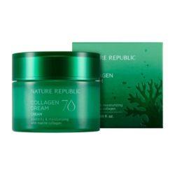 Nature Republic Collagen Dream 70 Cream 50ml korean cosmetic skincare shop malaysia singapore indonesia