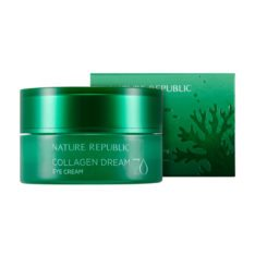 Nature Republic Collagen Dream 70 Eye Cream 25ml korean cosmetic skincare shop malaysia singapore indonesia