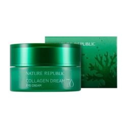Nature Republic Collagen Dream 70 Eye Cream 25ml korean cosmetic skincare shop malaysia singapore indonesia