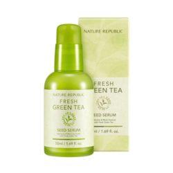 Nature Republic Fresh Green Tea Seed Serum 50ml korean cosmetic skincare shop malaysia singapore indonesia