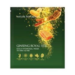 Nature Republic Ginseng Royal Silk Gold Hydrogel Mask 32g korean cosmetic skincare shop malaysia singapore indonesia