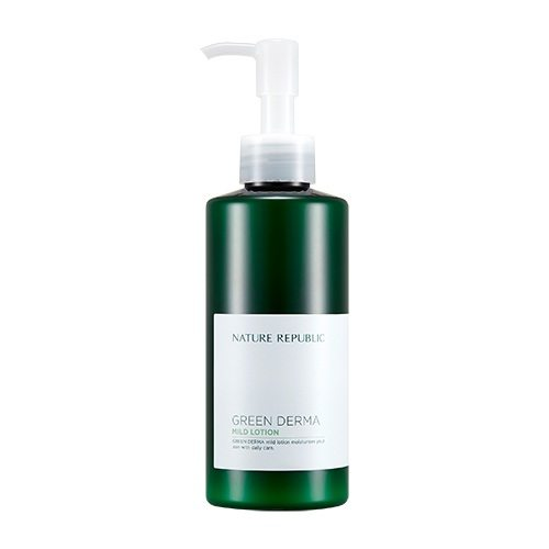 Nature Republic Green Derma Mild Lotion korean cosmetic skincare product online shop malaysia china taiwan