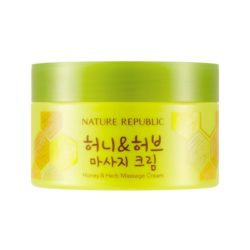 Nature Republic Honey & Herb Massage Cream 215ml korean cosmetic skincare shop malaysia singapore indonesia