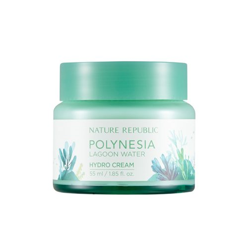 Nature Republic Polynesia Lagoon Water Hydro Cream 55ml korean cosmetic skincare shop malaysia singapore indonesia