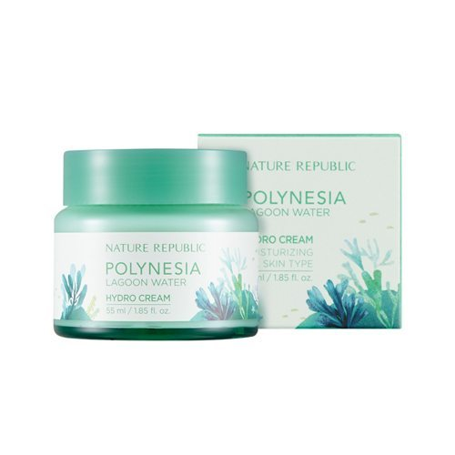 Nature Republic Polynesia Lagoon Water Hydro Cream 55ml malaysia singapore indonesia