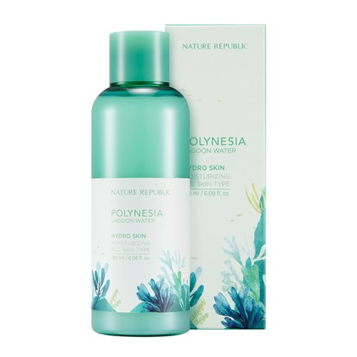 Nature Republic Polynesia Lagoon Water Hydro Skin 180ml malaysia singapore indonesia