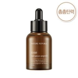 Nature Republic Real Nature Rose Ampoule 30ml korean cosmetic skincare shop malaysia singapore indonesia