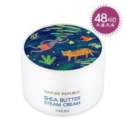 Nature Republic Shea Butter Steam Cream Fresh 100ml korean cosmetic skincare shop malaysia singapore indonesia