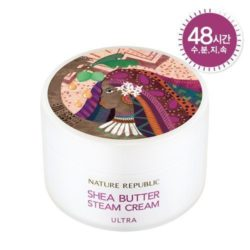 Nature Republic Shea Butter Steam Cream Ultra 100ml korean cosmetic skincare shop malaysia singapore indonesia