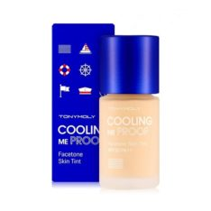 TONYMOLY Cooling Me Proof Facetone Skin Tint SPF30 PA++ 19g korean cosmetic makeup product online shop malaysia india usa