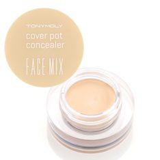 TONYMOLY Face Mix Cover Pot Concealer 4g korean cosmetic makeup product online shop malaysia india usa