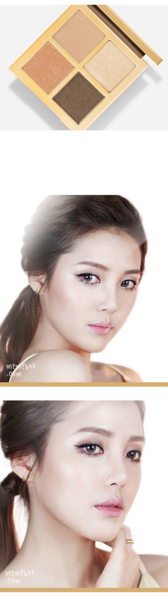 MEMEBOX x PONY Shine Easy Glam Eyeshadow Palette 3 malaysia singapore indonesia philippine canada australia1