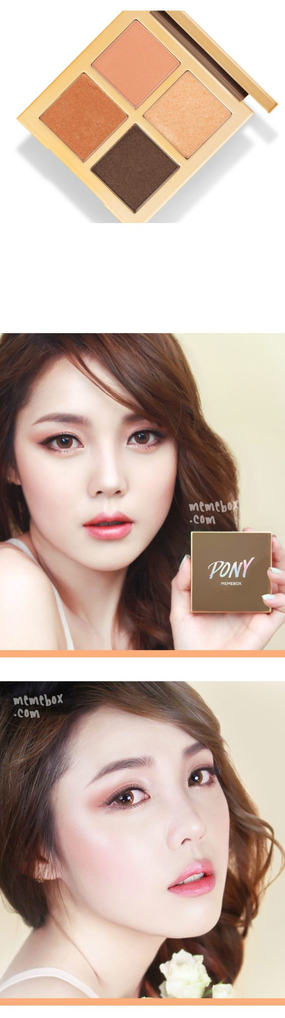 MEMEBOX x PONY Shine Easy Glam Eyeshadow Palette 3 malaysia singapore indonesia philippine canada australia3