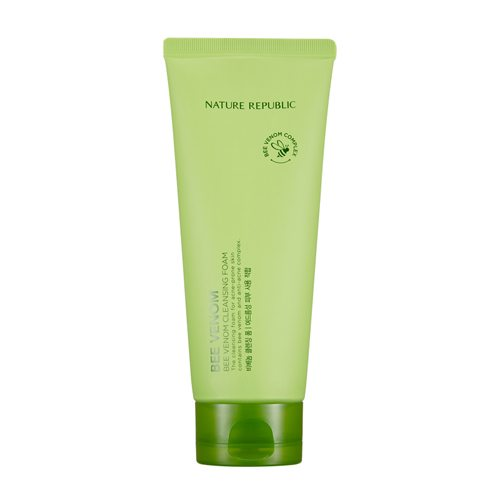 Nature Republic Bee Venom Cleansing Foam 150ml korean cosmetic skincare shop malaysia singapore indonesia