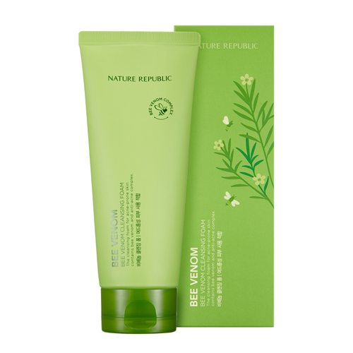 Nature Republic Bee Venom Cleansing Foam 150ml malaysia singapore indonesia
