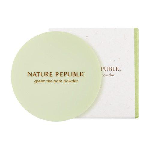 Nature Republic Botanical Green Tea Pore Powder – Korean beauty