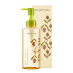 Nature Republic Forest Garden Argan Cleansing Oil 200ml korean cosmetic skincare shop malaysia singapore indonesia