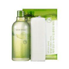 Nature Republic Jeju Sparkling Cleansing Water 510ml korean cosmetic skincare shop malaysia singapore indonesia