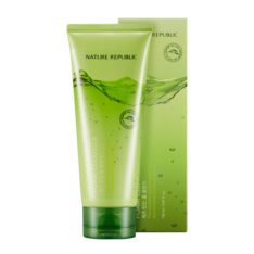 Nature Republic Jeju Sparkling Foam Cleanser 150ml korean cosmetic skincare shop malaysia singapore indonesia