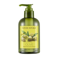 Nature Republic Natural Olive Hydro Shampoo 310ml korean cosmetic skincare shop malaysia singapore indonesia