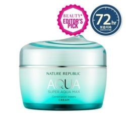 Nature Republic Super Aqua Max Combination Watery Cream 80ml korean cosmetic skincare shop malaysia singapore indonesia