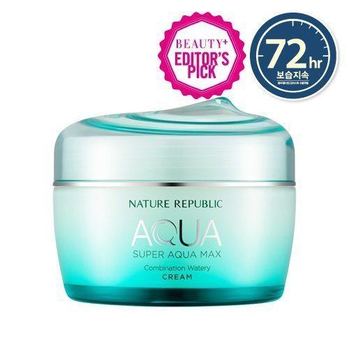 Nature Republic Super Aqua Max Combination Watery Cream 80ml korean cosmetic skincare shop malaysia singapore indonesia